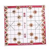 Baoblaze Chinesisches Schachspiel mit Figuren Satz - Schach Durchmesser 4,5 cm