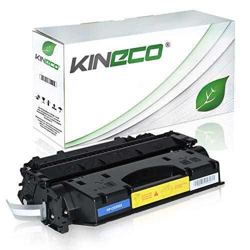 Kineco Toner kompatibel zu HP CE505X /05X für HP Laserjet P2055D, Laserjet P2056, Laserjet P2057, Laserjet P2054, Laserjet P2053 - Schwarz 6.500 Seiten