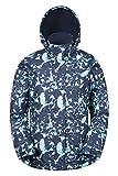 Mountain Warehouse Chaqueta de esquí Dawn para mujer - Impermeable a la nieve, abrigo de esquí con forro polar, puños, bajo y capucha ajustables Azul marino 42