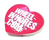WHEEL WHORES ® Sticker Herz Aufkleber Stickerbomb Dub (140 x 130mm)
