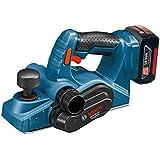 Bosch GHO 18 V-Li - Pulidora (18 V, Ión de litio, 2.6 kg) Negro, Azul, Rojo