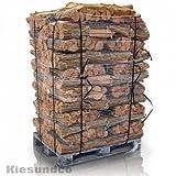 Brennstoff Kaminholz in 12,5 dm³ Netz volle Palette 72 Netze - schönes Flammenbild & hoher Heizwert