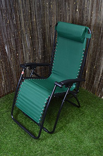Hamble Fauteuil inclinable Redwood BB-FC114G Textoline – Vert