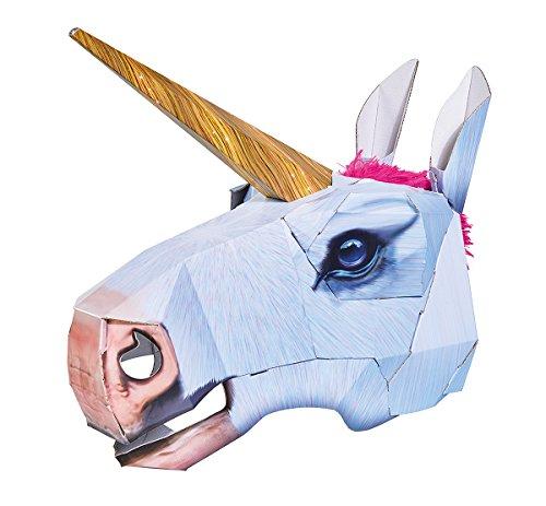 Simba 106304078 - Cabezal de Papel 3D con diseño de Unicornio