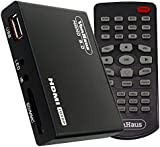 VonHaus Nano 3.0 Media Player- HD TV Digital Mini Media Player - 1080p - MKV - Play any file from USB HDDs/Flashdrives/Memory Cards