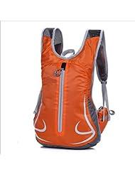 Xiuxiandianju Deporte al aire libre de 12L escalada ciclismo mochilas bolsas bici , orange