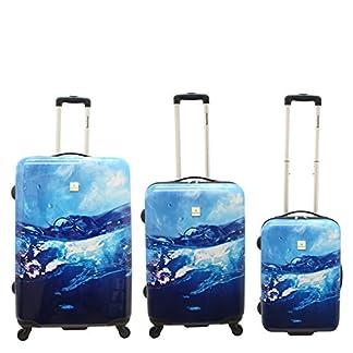 Saxoline Juego de maletas, azul (Azul) – 1341H0.17.09