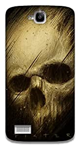 The Racoon Lean Skulls hard plastic printed back case / cover for Huawei Honor Holly