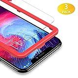 BANNIO Verre Trempé pour iPhone XR,[3 Pièces] Film Protection écran en iPhone...