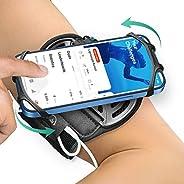 Bovon Porta Cellulare da Corsa, Traspirante Porta Telefono Corsa 360° Rotazione Compatibile con iPhone 12 Pro,