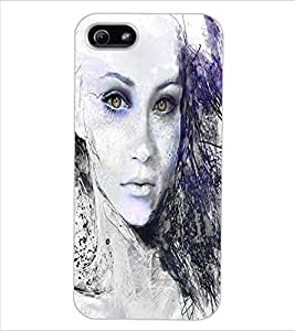 ColourCraft Amazing Art Design Back Case Cover for APPLE IPHONE 5S