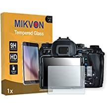 MIKVON 1x flexible Tempered Glass 9H para Ricoh Pentax K-1 Protector de Pantalla - Embalaje y accesorios