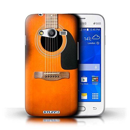 Stuff4 Hülle / Hülle für Apple iPhone 4/4S / Holz Akustische Muster / Gitarre Kollektion Sunburst Akustik