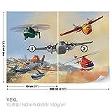 FORWALL DekoShop Disney Planes Vlies Fototapete Tapete Vliestapete Disney Planes Kinder AD1540VEXL 208cm x 146cm Photo Wallpaper Mural