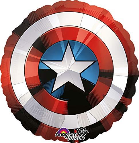 Amscan International 3484101 Avengers Shield - Globo de aluminio