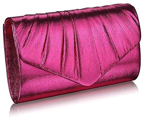 Ladies Women's Fashion Trendy Designer Celebrity Metallic Clutch Bag Quality Party Festival Evening Purse Bags CWE0068