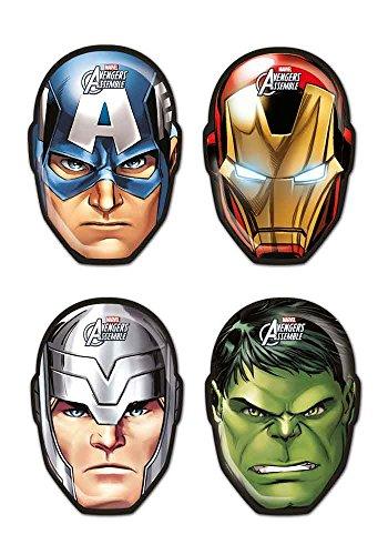 6 Augenmasken Avengers (Tmnt Augenmaske)