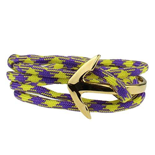 DON STILO Anker Wickelarmband | Half Bangle 18k Gold