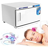 UV Esterilizador, 2 EN 1 esterilizador de alta temperatura para la herramienta toalla de esterilización