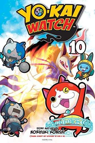 Yo-kai Watch, Vol. 10 por Noriyuki Konishi