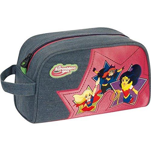 DC Super Hero Girls Sac à Dos Enfants, Multicolore (Multicolore) - 041133