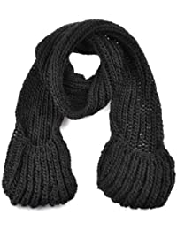 Women/Ladies Winter Soft Ball Knitted Scarf With Hat or Pockets