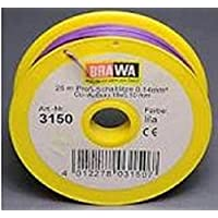 Brawa 3150 Schaltlitze lila, 25m