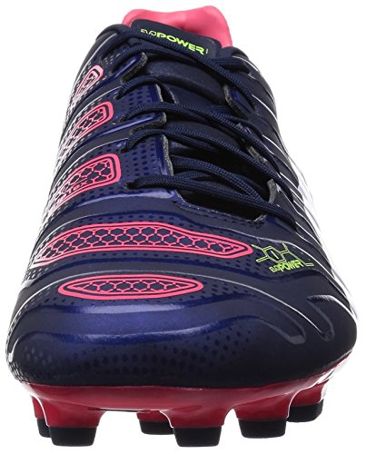 Puma Evopower 1.2 Ag, Chaussures de football homme Bleu - Blau (peacoat-white-bright plasma 01)