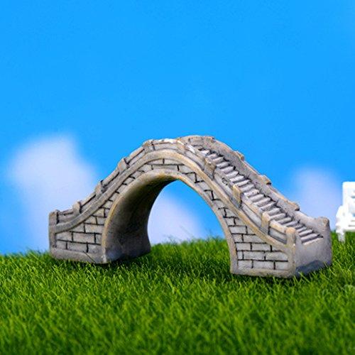 Passerella Semicircolare Micro Mestiere Paesaggio Ponte Pedonale Grigio