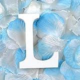 Woopower - alfabeto in legno, lettere da A a Z da appendere o da utilizzare come soprammobili, per matrimoni, feste, decorazione, 0,8cm