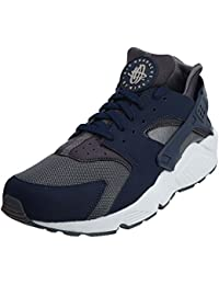 Nike Hombres de Air Huarache Zapatillas de Running, (Dark Grey/Midnight Navy), 10,5 D(M) US