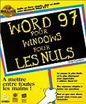 Word 97 pour Windows pour les nuls