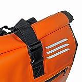 Red Loon Kurier Rucksack Courier Bag Kuriertasche LKW-Plane Backpack Kurierrucksack orange - 5