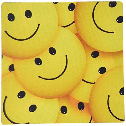 3drose LLC 20,3x 20,3x 0,6cm Maus Pad, der Strauß aus Smiley Faces Füllen das Bild (MP _ 179472_ 1) -