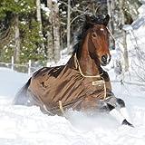 BUCAS Outdoor Pferdedecke SMARTEX EXTRA, schokobraun, 125
