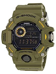 Casio Herren-Armbanduhr XL G-Shock Master Of G Digital Quarz Resin GW-9400-3ER