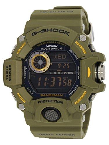 Casio Herren-Armbanduhr XL G-Shock Master Of G Digital Quarz Resin GW-9400-3ER
