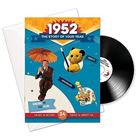 1952 Anniversaire ou Cadeaux - 1952 4-en-1 et Cadeaux - Histoire de l'Année, CD, Musique Télécharger