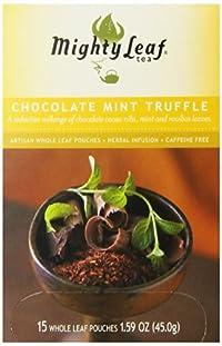 Mighty Leaf Chocolate Mint Truffle (1 Box, 15 Tea Bags)