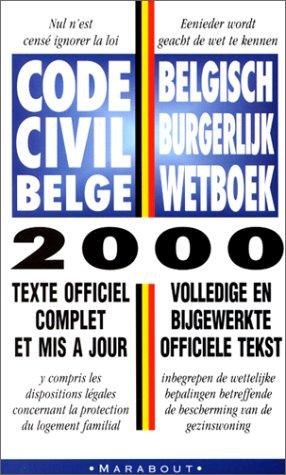 Code civil belge 2000