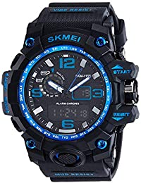 Swisstyle Analog-Digital Blue Dial Men's Watch-1155-Blue
