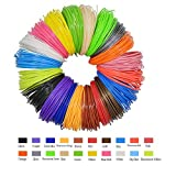 GEEETECH PLA Filament 1.75mm, 3D Stift filament PLA, 3D Druck Filament Paket mit 20 unterschiedlichen Farben, einschließlich 5 verschiedenen fluoreszierender Farben.