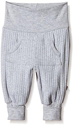 Müsli by Green Cotton Baby-Unisex Cozy Pocket Pants Hose, Grau (Pale Greymarl 207670000), 92 - Cozy Pocket