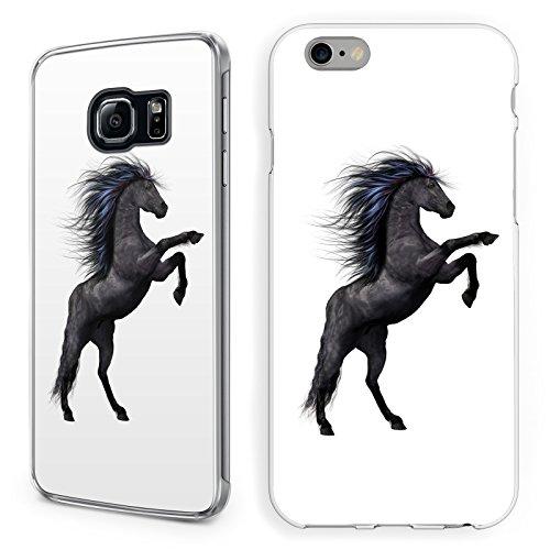 Hülle Pferde Samsung Hardcase Pferd Reiter Reiterhof Horse Trense Maultier, Handy:Samsung Galaxy A3 (2016), Hüllendesign:Design 5 | Hardcase Klar