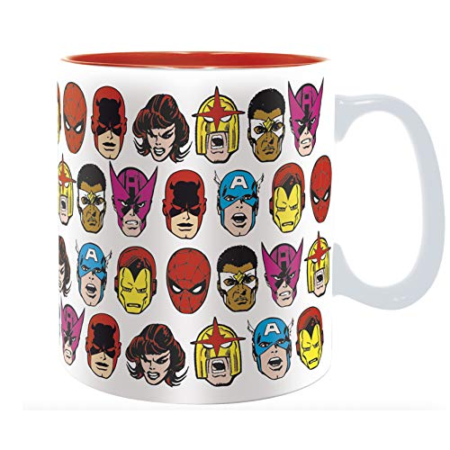 ABYstyle - MARVEL - Taza - 460 ml - Marvel personajes
