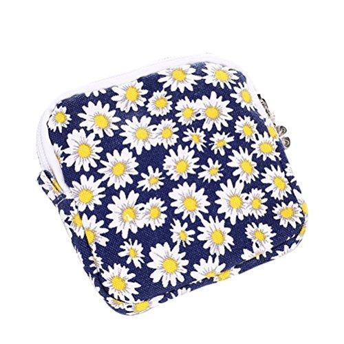 n Nette Sanitär Pad Organizer Halter Serviette Handtuch Komfortbeutel Kleine Mini Taschen Rot Rosa Gelb Blau Wassermelone Rot Grün (Gelb) ()