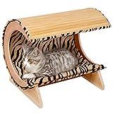 Karlie Liegebett Kitty Bamboo 1, Schlafmöbel, Liegeplatz für Katzen