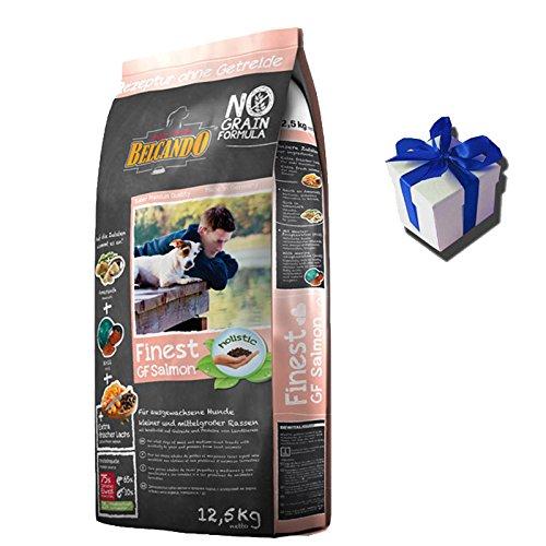 12,5 kg Belcando FINEST GF Salmon/ Lachs getreidefreies Hundefutter + Geschenk