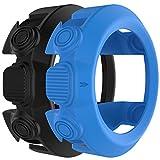Chofit D2Bravo/Tactix Protector Sleeve de remplacement, Coque en silicone Bracelet de montre Smart Cover, Housse de protection pour Garmin D2Bravo/Tactix, bla&blu