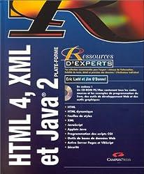 HTML 4, XML et Java 2 (CD rom)